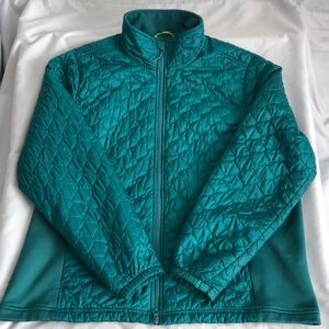 L.L. Bean Quilted Thinsulate Zip Up Puffy Jacket